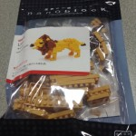 【nanoblock】『NBC_057 ライオン』を作って改造してみた!