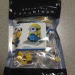 【nanoblock】【USJ限定】ミニオン『STUART(スチュアート)』を作ってみた!
