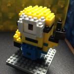 【nanoblock】【USJ限定】ミニオン『STUART(スチュアート)』を改造してみた!