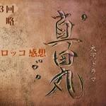 真田丸 第3回 感想 ☆まさにタイトルどおり 怒涛の 策 略
