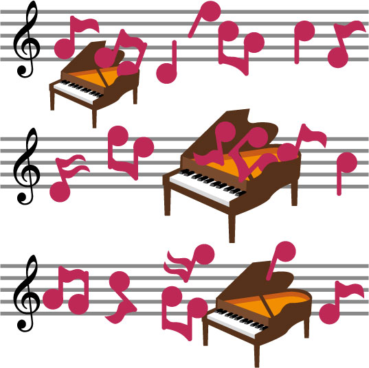 ピアノと楽譜232871-[更新済